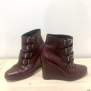 Chloe Sevigny for Opening Ceremony wedge boots